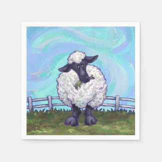 Sheep Gifts & Accessories Paper Napkins