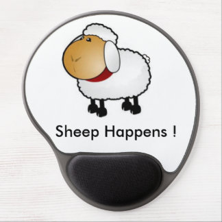 Sheep Happens ! Gel Mouse Mat