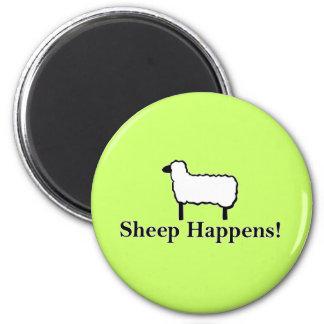 Sheep Happens! Magnet
