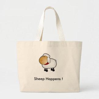 Sheep Happens ! Jumbo Tote Bag