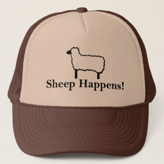 Sheep Happens! Trucker Hat