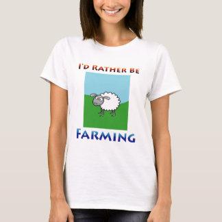 Sheep i'd rather be farming Women T-Shirt