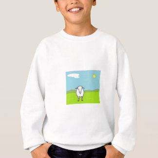 Sheep In A Field Sweatshirt