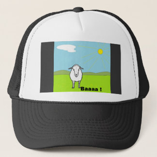Sheep In A Field Trucker Hat