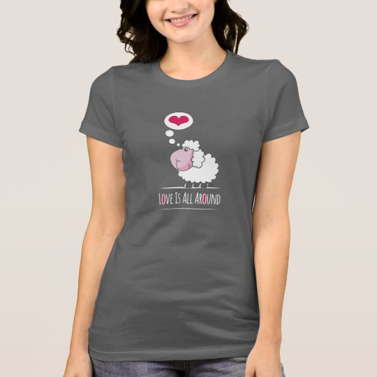 Sheep In Love Happy Valentine's Day Shirt