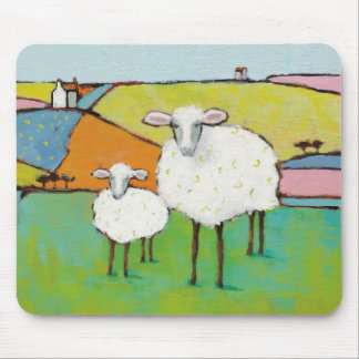 Sheep in the Meadow Mouse Mat