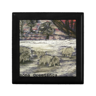 Sheep-in-winter-Seasons-Greetings Gift Box