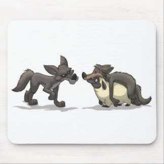 """Sheep in Wolf's Clothing"" Mousepad"