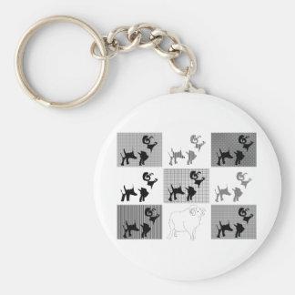 sheep key chains