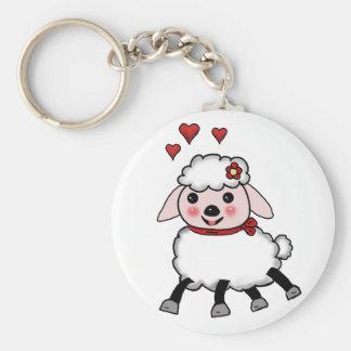 sheep key chain