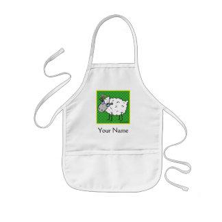 Sheep Kids Apron