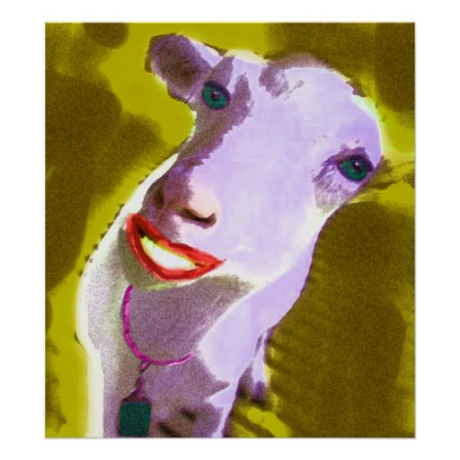 SHEEP LADY POSTER