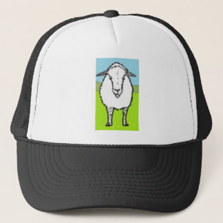 Sheep looking at you trucker hat