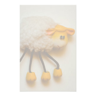 Sheep magnet personalized stationery