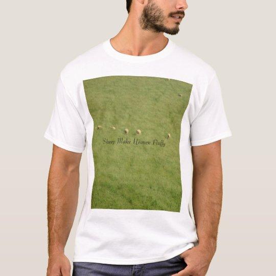 Sheep Make Heaven Fluffy T-Shirt