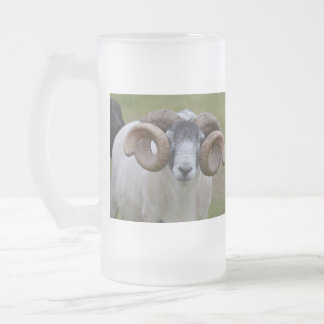 Sheep Frosted Beer Mugs