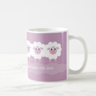 Sheep mug - Sober one day at a time since .  .  .