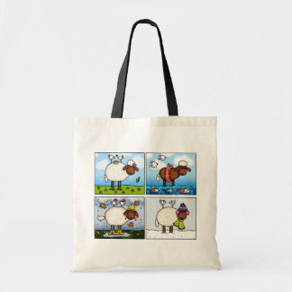 sheep of all seasons bag