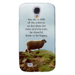 Sheep on Mountain Desiderata HTC Vivid Case