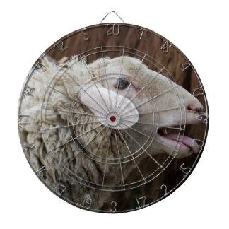 sheep on the farm dartboard