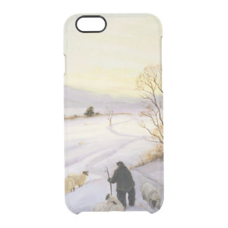 Sheep on the ridge clear iPhone 6/6S case