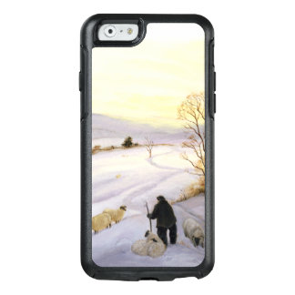 Sheep on the ridge OtterBox iPhone 6/6s case