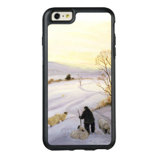 Sheep on the ridge OtterBox iPhone 6/6s plus case