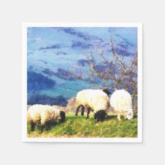 SHEEP PAPER NAPKINS