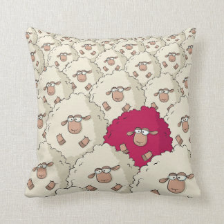 Sheep Pattern Cushion