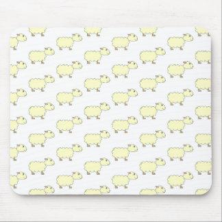 Sheep Pattern. Mouse Mat