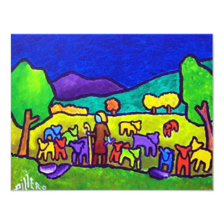 Sheep Roundup by Piliero Card