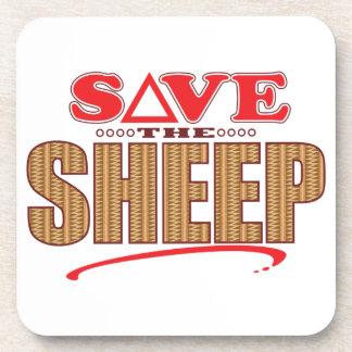 Sheep Save Drink Coaster