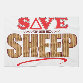 Sheep Save Tea Towel