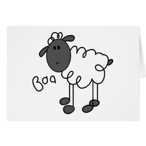 Sheep Says Baa Tshirts and Gifts Cards