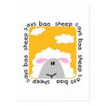 Sheep Says Baa Tshirts and Gifts Post Card