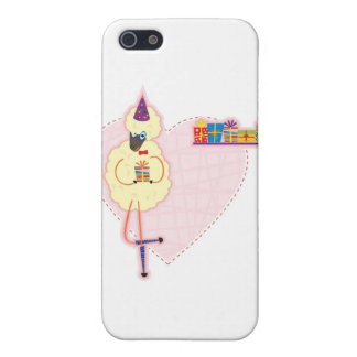 sheep sharing gifts iPhone 5 case