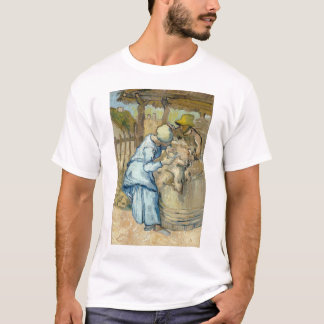 Sheep Shearer after Millet by Vincent Van Gogh T-Shirt