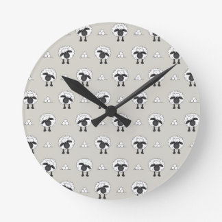 Sheep, sheep and even more sheep round clock