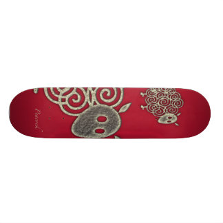 sheep skateboard deck