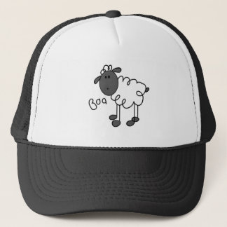 Sheep Stick Figure Hat