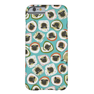 sheep sushi blue barely there iPhone 6 case