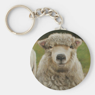 Sheep - who s ewe keychain