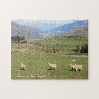 Sheep with a view, Queenstown NZ - Puzzle