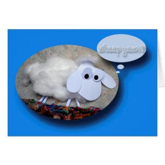 Sheep Year ? - Funny Chinese New year 2015 Greeting Card