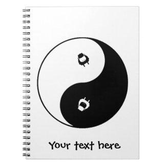 Sheep Yin Yang Notebooks
