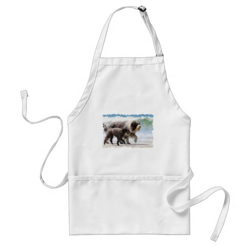 Sheepdog and Poodle - Me and My Pal Apron