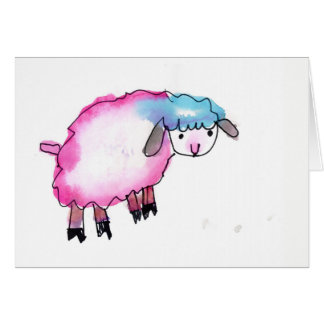 Sheeped • Emma Griste, Age 7 Card