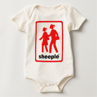 Sheeple Baby Bodysuit