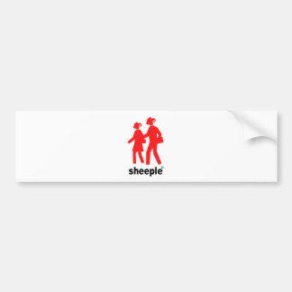 Sheeple Bumper Sticker