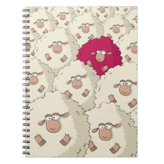 Sheeps Pattern Notebook